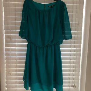 Gianni Bini green dress